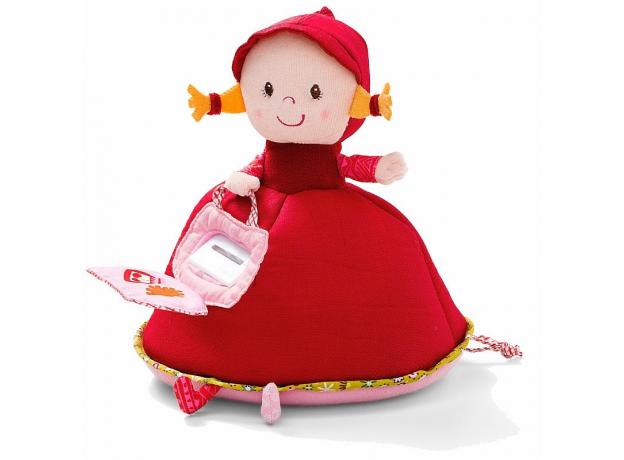 Музыкальная мягкая игрушка-копилка Lilliputiens «Красная Шапочка», фото