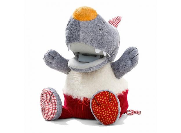 Музыкальная мягкая игрушка-копилка Lilliputiens «Волк Николас», фото , изображение 2