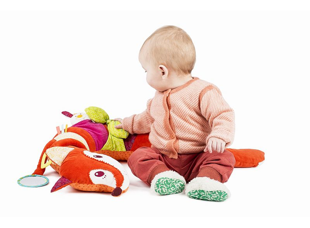 Развивающая игрушка Lilliputiens «Лиса Алиса», фото , изображение 5