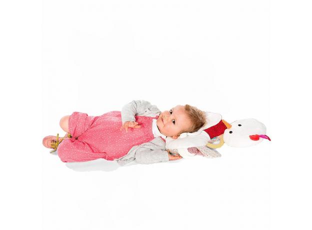 Мягкая игрушка-подушка Lilliputiens «Курочка Офелия», фото , изображение 2