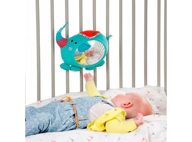 Игрушка - зеркало развивающее Lilliputiens «Слоненок Альберт», фото , изображение 3