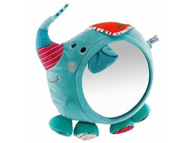 Игрушка - зеркало развивающее Lilliputiens «Слоненок Альберт», фото