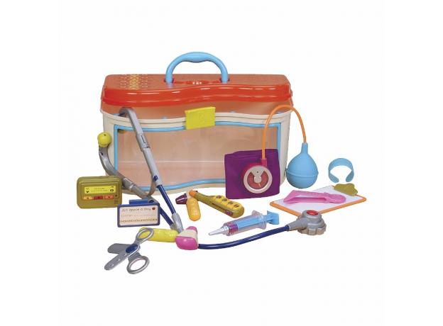 Медицинский набор B.Toys (Battat) оранжевая крышка, фото
