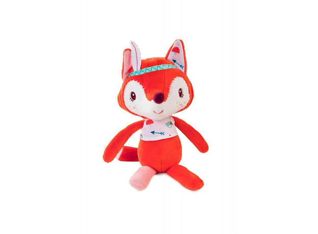Мягкая игрушка «Лиса Алиса»; подарочная упаковка, фото