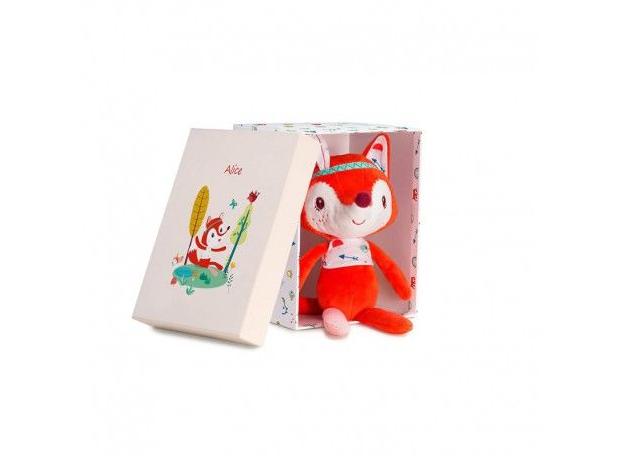 Мягкая игрушка «Лиса Алиса»; подарочная упаковка, фото , изображение 3