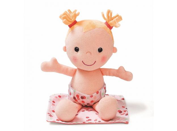 Мягкая куколка в переноске с игрушкой Lilliputiens, фото , изображение 3