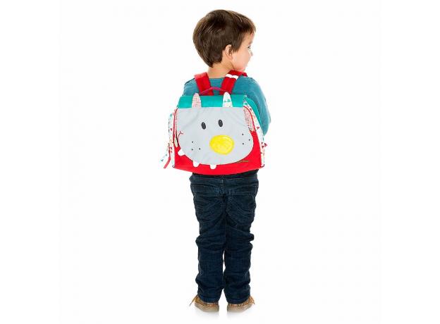 Дошкольный рюкзак Lilliputiens «Волк Николас»; А5, фото , изображение 2