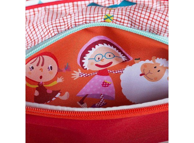 Дошкольный рюкзак Lilliputiens «Волк Николас»; А5, фото , изображение 3