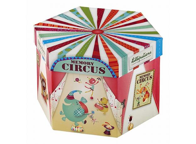 Домино круглое Lilliputiens «Цирк», фото , изображение 2