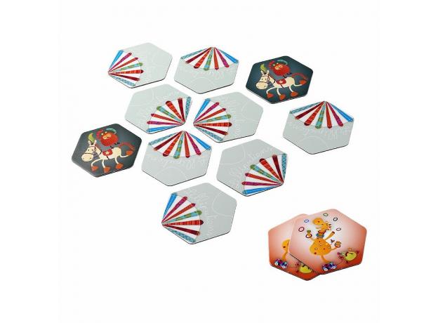Домино круглое Lilliputiens «Цирк», фото , изображение 3