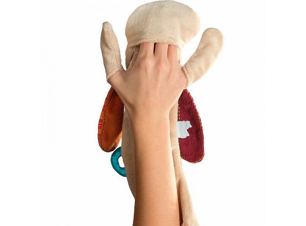 Игрушка-обнимашка в коробке Lilliputiens «Собачка Джеф», фото , изображение 3