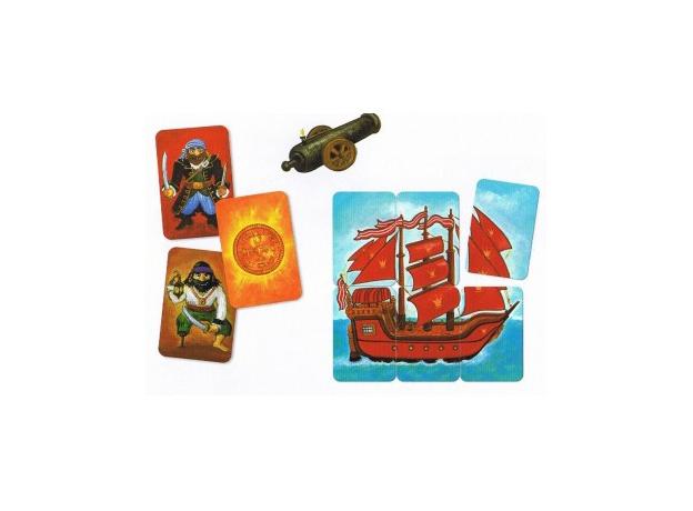 DJECO Карточная игра Пират, фото , изображение 4