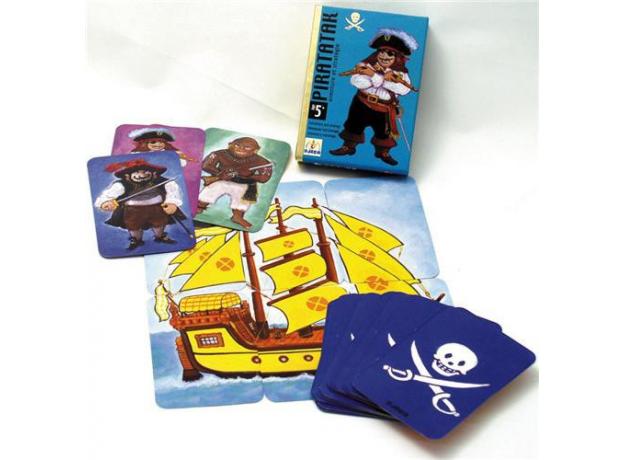 DJECO Карточная игра Пират, фото , изображение 5
