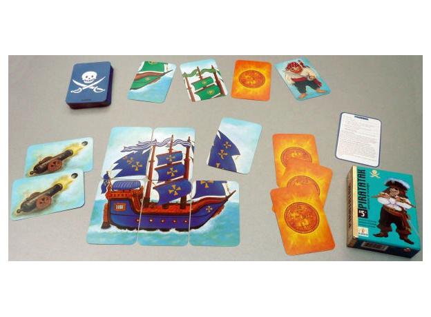 DJECO Карточная игра Пират, фото , изображение 6