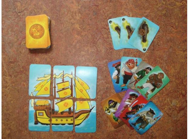 DJECO Карточная игра Пират, фото , изображение 9