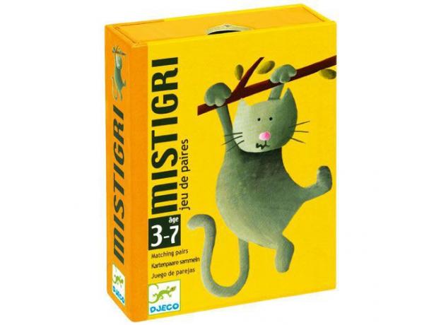 DJECO Карточная игра Мистигри 05105, фото , изображение 2