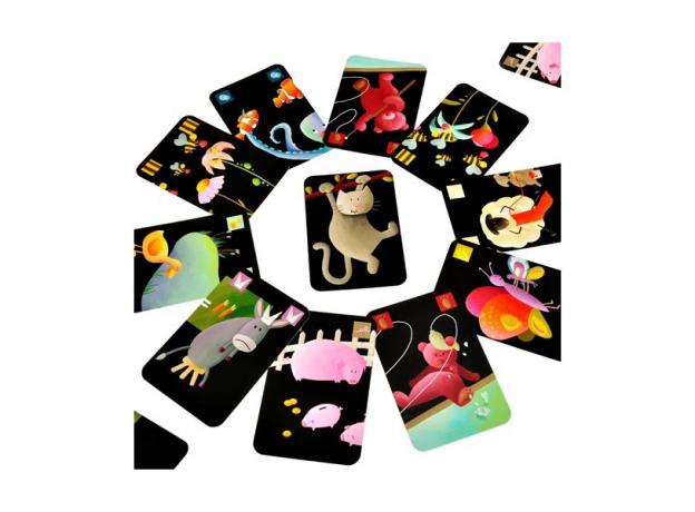 DJECO Карточная игра Мистигри 05105, фото , изображение 6