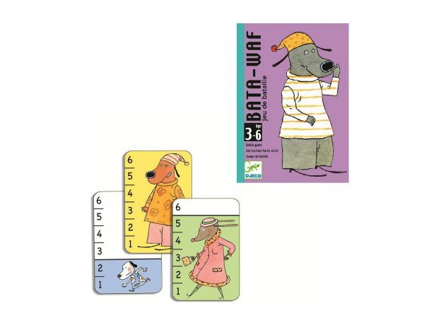 DJECO Карточная игра Батаваф 05104, фото , изображение 2