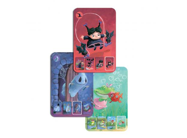 DJECO Карточная игра Мини-семья 05101, фото , изображение 4