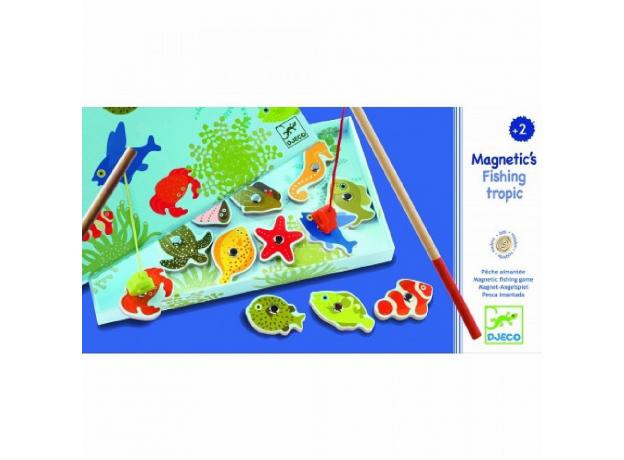 DJECO Магнитная игра Тропическая рыбалка 01652, фото , изображение 3