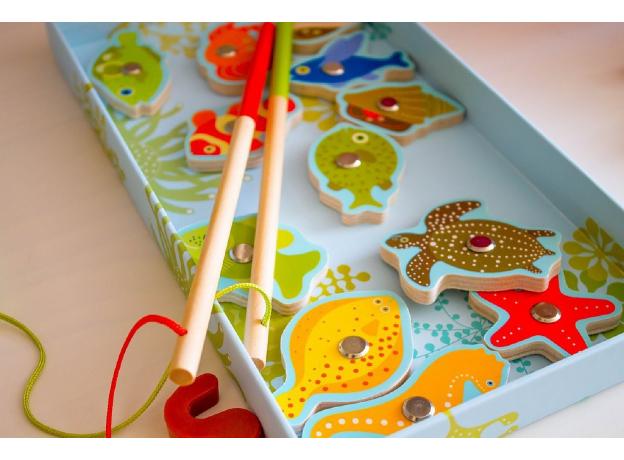 DJECO Магнитная игра Тропическая рыбалка 01652, фото , изображение 4