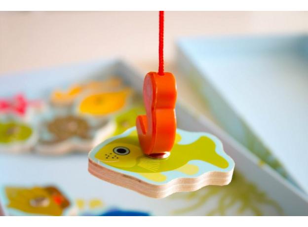 DJECO Магнитная игра Тропическая рыбалка 01652, фото , изображение 5