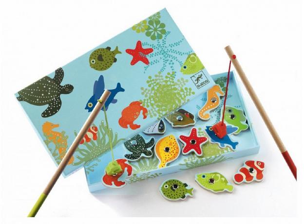 DJECO Магнитная игра Тропическая рыбалка 01652, фото