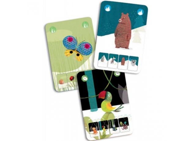 DJECO Игральные карты «Маленькая природа» 05129, фото , изображение 3