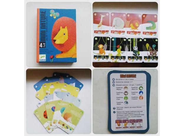 DJECO Игральные карты «Маленькая природа» 05129, фото , изображение 5