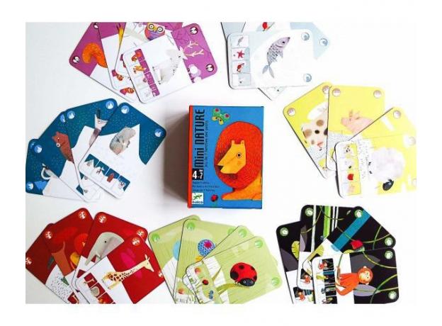DJECO Игральные карты «Маленькая природа» 05129, фото , изображение 7