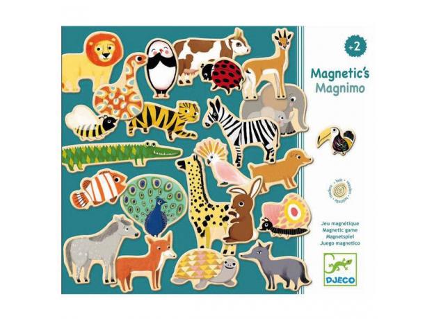 DJECO Магнитная игра Животные, фото