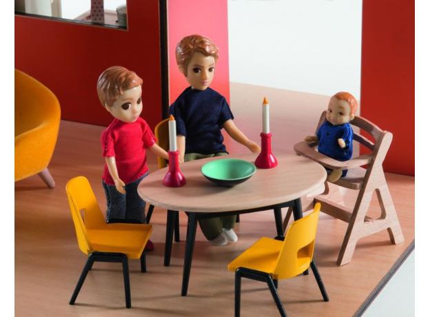 DJECO Дом-кубик для кукол 07801, фото , изображение 2