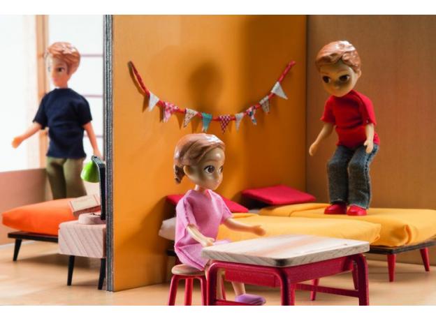 DJECO Дом-кубик для кукол 07801, фото , изображение 8