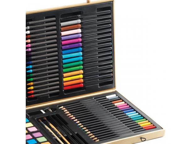 DJECO Большой набор: карандаши, фломастеры, краски, фото , изображение 5
