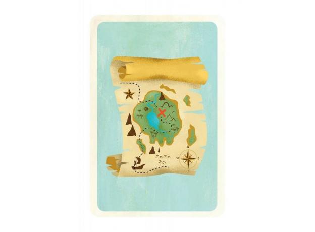 DJECO Детская наст.карт. Игра Сокровища, фото , изображение 2