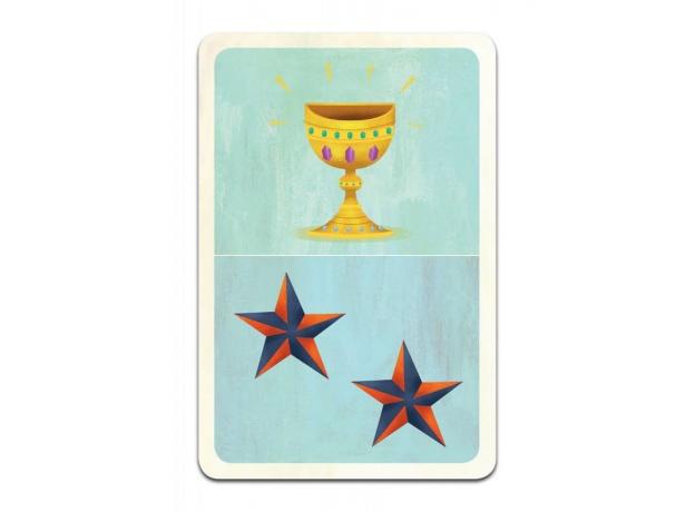 DJECO Детская наст.карт. Игра Сокровища, фото , изображение 4
