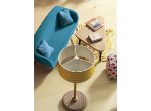 DJECO Мебель для кукольного дома Оранжевая гостиная 07822, фото , изображение 2