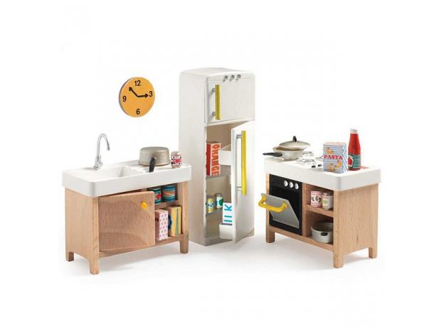 DJECO Мебель для кукольного дома Кухня 07823, фото