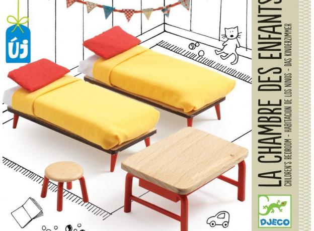 DJECO Мебель для кукольного дома Спальня для детей 07826, фото