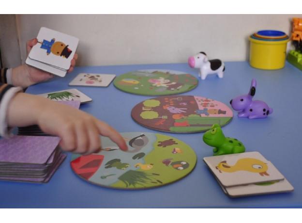 DJECO Игра на ассоциации «Зверята» 08553, фото , изображение 7