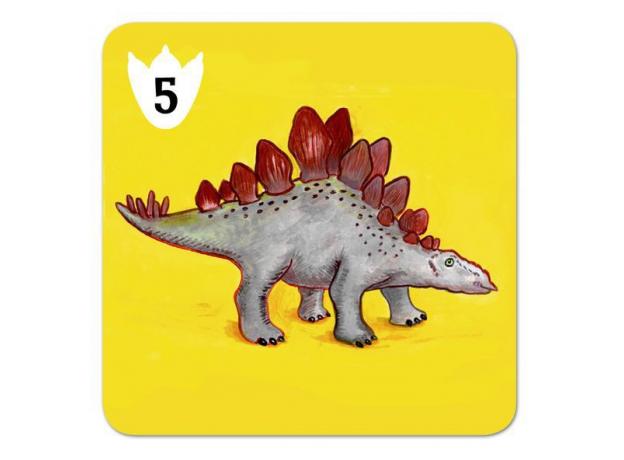 DJECO Детская наст.карт.игра Динозавры 05136, фото , изображение 2