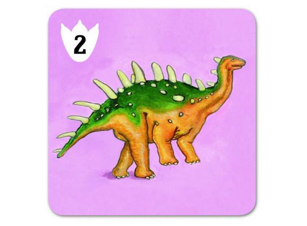 DJECO Детская наст.карт.игра Динозавры 05136, фото , изображение 9