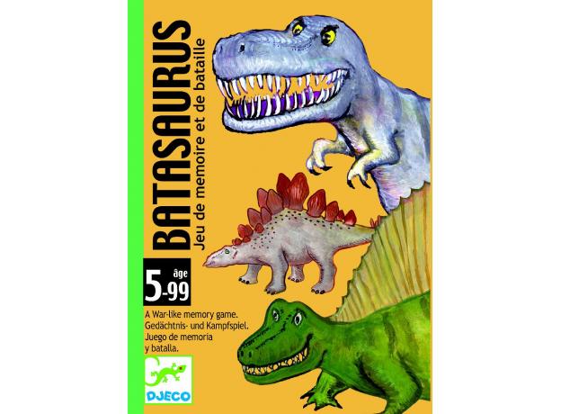 DJECO Детская наст.карт.игра Динозавры 05136, фото