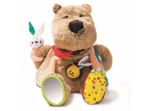 Развивающая игрушка Lilliputiens «Медвежонок Цезарь», фото