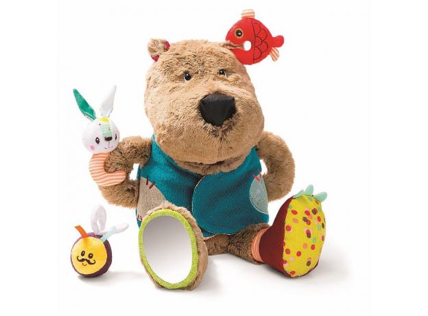 Развивающая игрушка Lilliputiens «Медвежонок Цезарь», фото , изображение 2