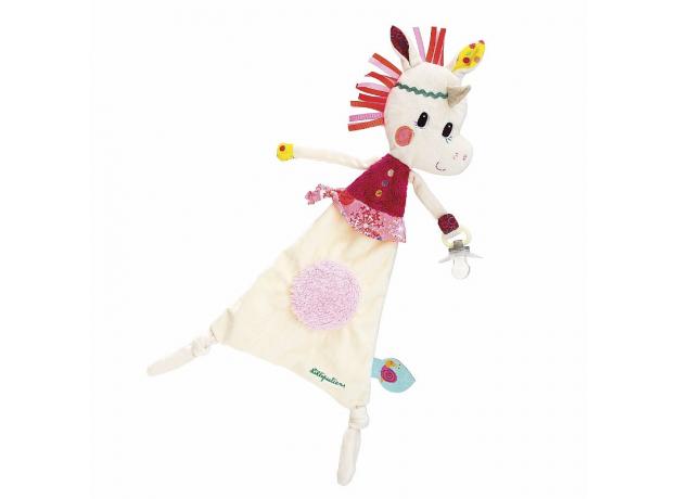 Мягкая игрушка-обнимашка с держателем Lilliputiens «Единорожка Луиза», фото