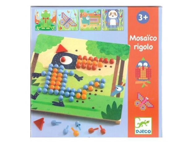 DJECO Игра Мозаика Риголо 08137, фото , изображение 4