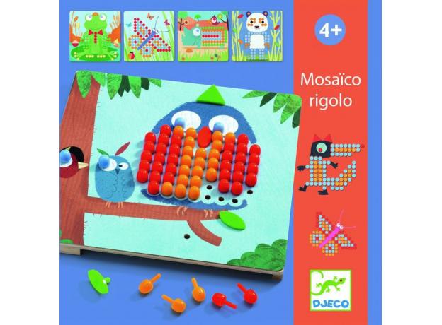 DJECO Игра Мозаика Риголо 08137, фото