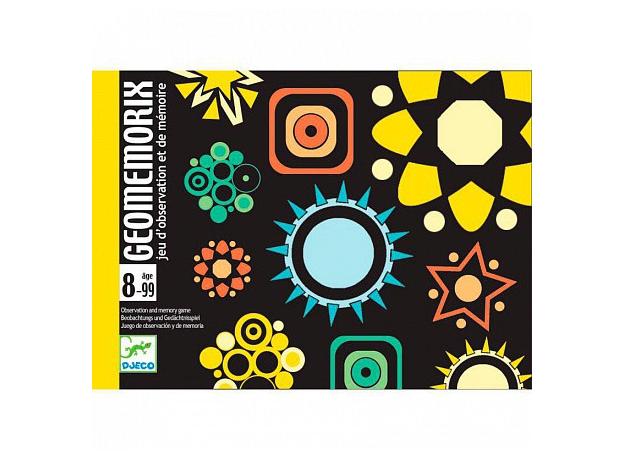 DJECO Карточная игра - Геомеморикс 05182, фото , изображение 2