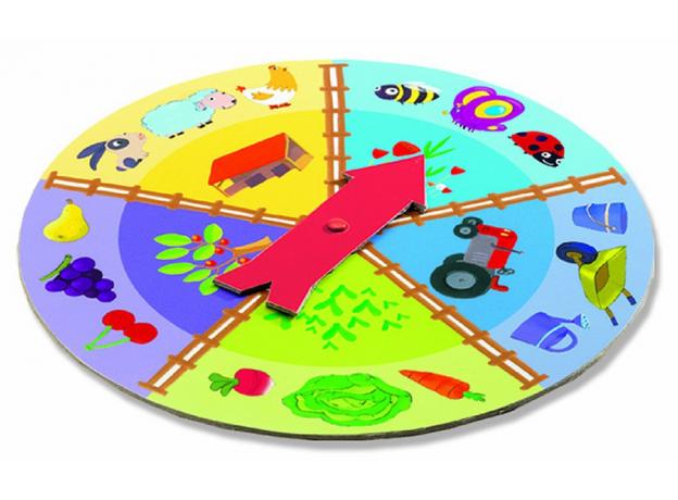 DJECO Игра Тактильное лото Ферма 08136, фото , изображение 2